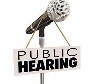 public hearing image